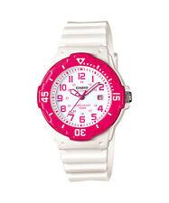 Casio Women's Ladies Sports Style Watch With White Display, Pink LRW-200H-4B