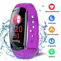 Fitness Band Tracker Smart watch Wristband Heart Rate/Blood Pressure/Sleep Monit