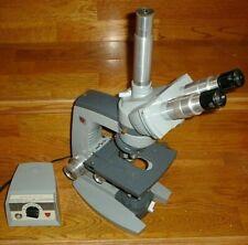 Ao American Optical Spencer Microscope 1036 1051 Lens Eyepieces Base Lab