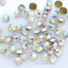ss14 color pointed back crystal glass rhinestone Nail Art necklace earring stone