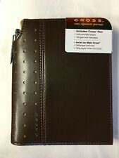 """Cross Signature Journal with Pen, 5"""" x 6"""", Small Brown"""