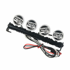 1:10 RC Metal Roof LED Light Bar 4 Leds for SCX10 D90 TRX4 Car Accessories New