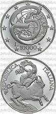 03889] ITALIA - 10000 LIRE ARGENTO 1995 - CONFERENZA DI MESSINA - PROOF