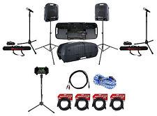 Peavey Portable Bluetooth Tablet/Smartphone/iPad Youtube Karaoke Machine/System
