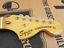 1983 SQUIER by FENDER STRATOCASTER NECK - made in JAPAN