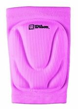 New Wilson Junior Pair (2) Volleyball Knee Pads Cushioned Foam & Sleeve Pink