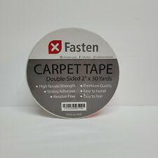 Xfasten Double Sided Carpet Tape 2-Inch x 30 Yard