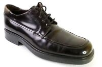 Aldo Traditions Mens Size 10 Shoes Brown Oxford Dress Made In Italy