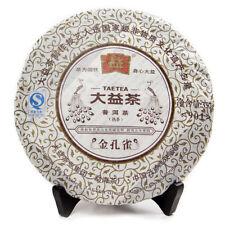 Gold Peacock * 2009 Yunnan Menghai Dayi Tea Factory TAETEA Ripe Pu Er Cake 357g