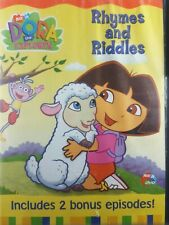 Dora the Explorer - Rhymes and Riddles DVD