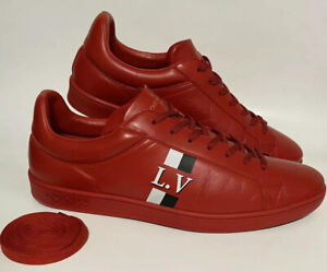 🌟Authentic Louis Vuitton Luxembourg Sneaker Shoes Size 9.5 US / 8.5 LV MS 0148