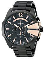 Diesel Men's DZ4309 Mega Chief Chronograph Black Stainless Steel Watch