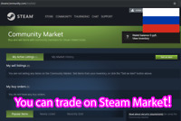 Steam UNLOCKED account + Trade market + Send gifts + Cheap games (RU)
