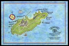 Alderney Markenheftchen 1 , ** , - Historische Entwicklung von Alderney ( 1998 )