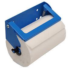 Powder coated aluminium paper towel roll (230mm) holder for van/workshop/garage