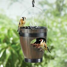 The Avian Oasis bird feeder, bath, and fountain hanging hook weather resistant