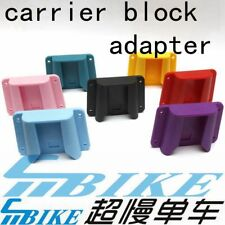 ACE ABS Carrier Block Adaptor for Brompton Bicycle front luggage bag
