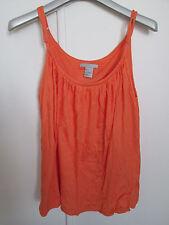 Haut / débardeur orange taille S marque H&M