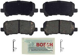 Rear Blue Disc Brake Pads Bosch BE1281 for Acura MDX ZDX Honda Odyssey Pilot