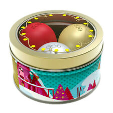 eos 2018 Holiday Lip Balm Set First Snow, Fireside Chai & Pomegranate Raspberry