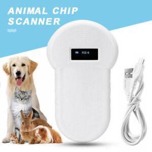 Handheld Portable Pet Dog Chip Reader Scanner Animal Microchip Recognition