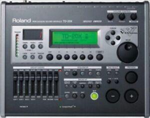 Roland TD-20X TD20X Elektronische V Trommel Sound Audio Modul Tested Funktionale