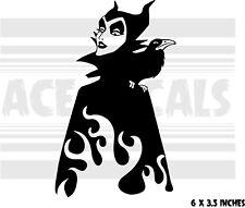 Maleficent - Sleeping Beauty - Car laptop vinyl decal sticker