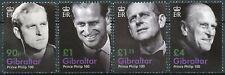 More details for gibraltar 2021 mnh royalty stamps prince philip 100th birth anniv 4v set