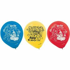 Jake and the Neverland Pirates Pack of 6 Latex Rubber Balloons (Helium Quality)