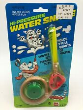 Vintage 1980s Jak Pack Hi Pressure Water Snake 20 Ft Jet Stream Toy