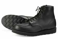 RED WING MOC TOE BOOTS 8137 BLACKOUT UK11 US12