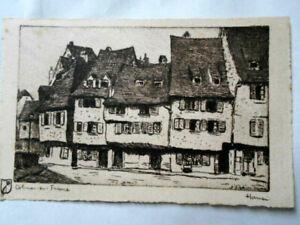 HANSI carte postale ancienne COLMAR en FRANCE