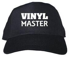 Vinyl Master Adult Low Profile Baseball Hat Cap Adjustable