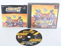 SUPER ROBOT WARS IV SCRAMBLE S 4th Ref/ccc PS1 Playstation PS Japan Game p1