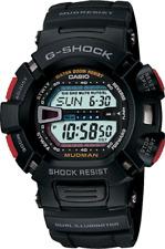 Casio G-Shock Men's Solar Black Band 48mm Watch G9000-1V