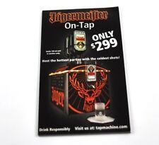 Jägermeister USA Block with werbezetteln for Dispenser