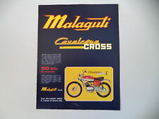 advertising Pubblicità 1973 MOTO MALAGUTI CAVALCONE 50 CROSS R RADIALE