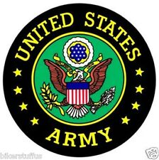 UNITED STATE ARMY STICKER BLACK BUMPER STICKER TOOLBOX STICKER LAPTOP STICKER