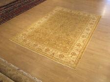 6 x 9 Handmade High Quality Veggie Dye Hand Spun Fine Wool Afghan Sultanabad Rug