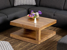Couchtisch 75x75 cm Wohnzimmertisch Tisch Beistelltisch Holztisch Palisander