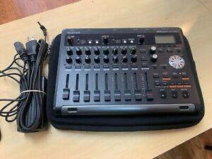 Tascam dp-03sd 8 Track Digital Recorder with Power Cable and soft case