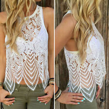 Fashion Women Summer Blouse Sexy Backless Vest Sleeveless Shirt Casual Tank Tops