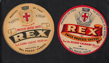 Ancienne  étiquette Fromage  Italie  BN10340 Rex Galbani
