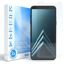 3x Samsung Galaxy A6 (2018) Panzerfolie Displayschutz Schutzfolie Folie Klar