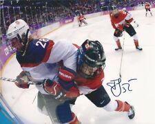 JOCELYNE LAROCQUE signed 8x10 photo TEAM CANADA