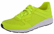 NEW Gucci Men's Neon Yellow 369088 Tennis Sneakers Trainers Shoes 8 G 9 U.S