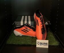 Adidas F50 Adizero TRX HG Boots - Warning/Black/White UK 9.5, US 10, EU 44