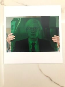 """ANDY WARHOL FACTORY 1981 6""""x6"""" MAGNUM PRINT POP ART Signed by Thomas Hoepker"""