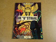 "STRIP 1° DRUK E.P. JACOBS / DE ""U"" STRAAL"