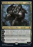 MTG x4 Garruk, Cursed Huntsman Throne of Eldraine MYTHIC RARE NM/M